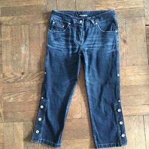 """Cool crop jeans. Inseam:21 1/2"""" Rise:8"""""""